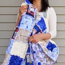 Rag Quilt Tutorial - Muslin and Merlot & Rag Quilt Tutorial Adamdwight.com