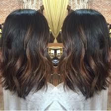 balayage hair dark brown medium length google search