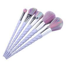 unicorn brush sets. unicorn handle 5pcs rainbow makeup brushes set unicorn brush sets i
