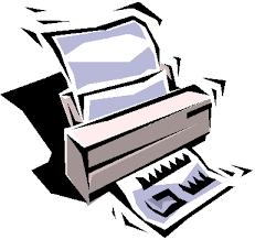 Broken Fax Machine Clipart