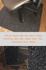 this office chair mat for hardwood floors or concrete this standing desk mat will work
