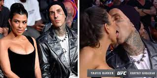 Travis Barker French kissed on camera ...