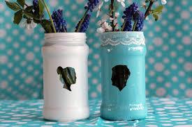 Jam Jar Decorating Ideas Transform Old Jam Jars Into Stunning Silhouette Vases 36
