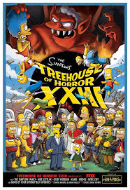 Treehouse Of Horrors XXVIII U2013 ACT I CalendarThe Simpsons Tapped Simpsons Treehouse Of Horror Xviii