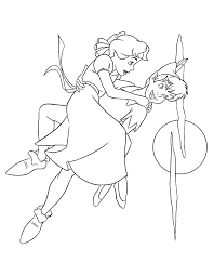 Small Picture Disney Peter Pan Coloring Pages Coloring Home