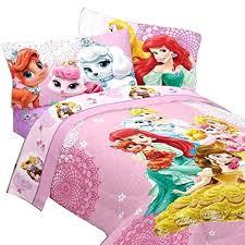 fantastical princess twin comforter set com palace pets princesses sweet bedding for a wonderful gift