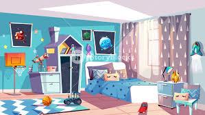 Bedroom furniture for boy Set Kid Boy Room Interior Vector Illustration Of Modern Bedroom Furniture In Blue Scandinavian Style Cartoon American Freight Kid Boy Room Interior Vector Illustration Of Modern Bedroom