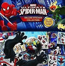 Spiderman Reward Chart Amazon Com Spiderman Deluxe Sticker Collection Create