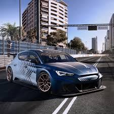 <b>New</b> CUPRA Leon E-<b>Racer</b> – Electric <b>Racing</b> Car