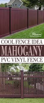 vinyl fence ideas. 32 Awesome New Fence Ideas For Your Home   Pvc Vinyl, Fences And Illusions Vinyl S