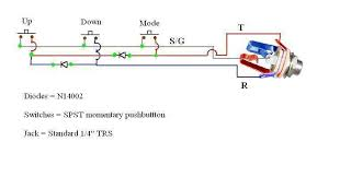 guitar pedal why are two diodes used here electrical schematic 1