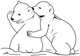 Small Picture Polar Bear Cubs Coloring PagesBearPrintable Coloring Pages Free