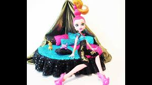 how to make a gigi grant doll bed tutorial monster high