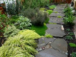 garden paths and stepping stones. garden path stone \u2013 on this has gaps creating stepping stones paths and a