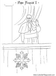 Small Picture Habemus Papam The Holy Father Pope Francis I Catholic coloring