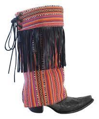 love this pink orange fringe geronimo boot rugs