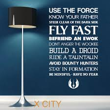 fullsize of nice star wars e use force wall art sticker decal removablevinyl cut