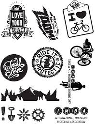 Kids Sticker Sheet International Mountain Bicycling Association