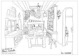 Coloriages The Kitchen La Cuisine Coloriage De Une Grand Piano Ouvert Pour Colorier L