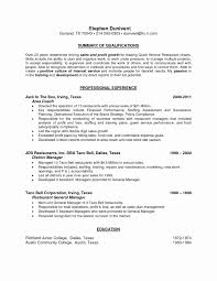 What To Put In Profile Section Of Resume Lovely What Are Good Skills