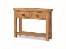 oak hall console table. New Ideas Oak Console Hall With Light And Dark Table