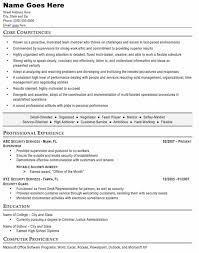 Security Supervisor Resume Enchanting Security Guard Resume Sample Free Resume Template Professional