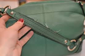 How to Fix a Leather Purse Strap – warfieldfamily