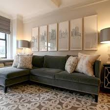 gray sofa with brown chairs. gray velvet sofa with chaise lounge brown chairs r