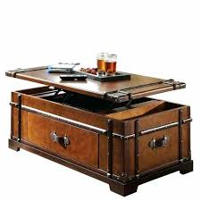 wooden trunks coffee tables lift top trunk coffee table riverside steamer trunk lift top coffee table