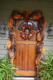 fall front door decorationsFront Door Decorated For Fall Pictures Photos and Images for