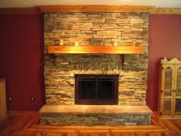Decor Stone Wall Design Fireplace Interior Stone Wall Fireplace Tiles For Awesome Decor 35