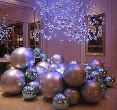 Silver Ceiling Fans Christmas Balls Decorating Ideas Ideas To