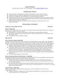 Resume Support Analyst Resume