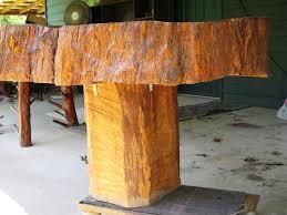 tree trunk coffee table high