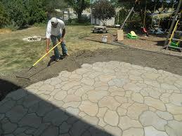 for diy flagstone patio
