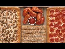 11 big dinner box w wings pizza hut