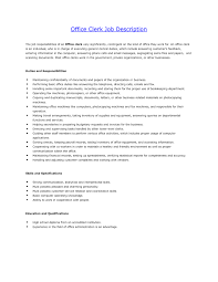 Extraordinary Resume for Office Clerk Position In Front Desk Administrator  Cover Letter Sample Job Resignation
