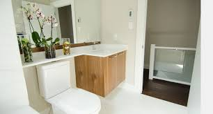 toilet is adjacent to the sink