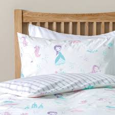 pixie unicorn bed linen set