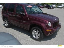 Dark Garnet Red Pearl 2003 Jeep Liberty Limited 4x4 Exterior Photo ...