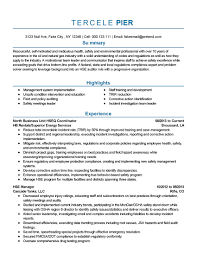 Safety Coordinator Resume Professional Safety And Environmental Safety Coordinator  Resume Professional Safety And Environmental Professional Templates