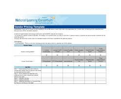 Vendor Comparison Chart Template 48 Stunning Price Comparison Templates Excel Word