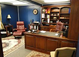 custom office furniture design. Custom Home Office Furniture With Brown Wood Set Also Leather Chair Design