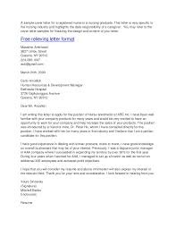 Labor And Delivery Nurse Cover Letter Inspirational New Grad Nursing