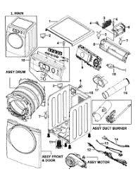 samsung dryer parts. main assy parts for samsung dryer dv337agw/xaa-0000 / from appliancepartspros.com