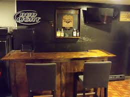 How To Build Your Own Home Bar Milligans Gander Hill Farm - Simple basement bars