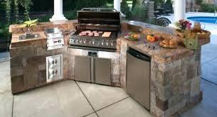 kitchenaid bbq island canada outdoor kitchen kit prefab kitchens s designs home decor appliances