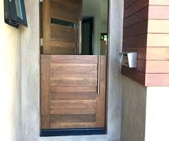 glass dutch door modern fiberglass entry front