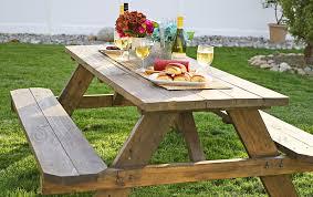 diy outdoor farmhouse table. Easy DIY Picnic Table Diy Outdoor Farmhouse