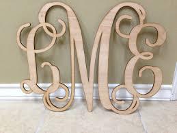 wood letters wooden monogram wall art vine by customcutmonograms on wall art wooden letters with wood letters wooden monogram wall art vine by customcutmonograms